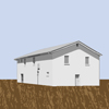 Tree-House Wheat Field